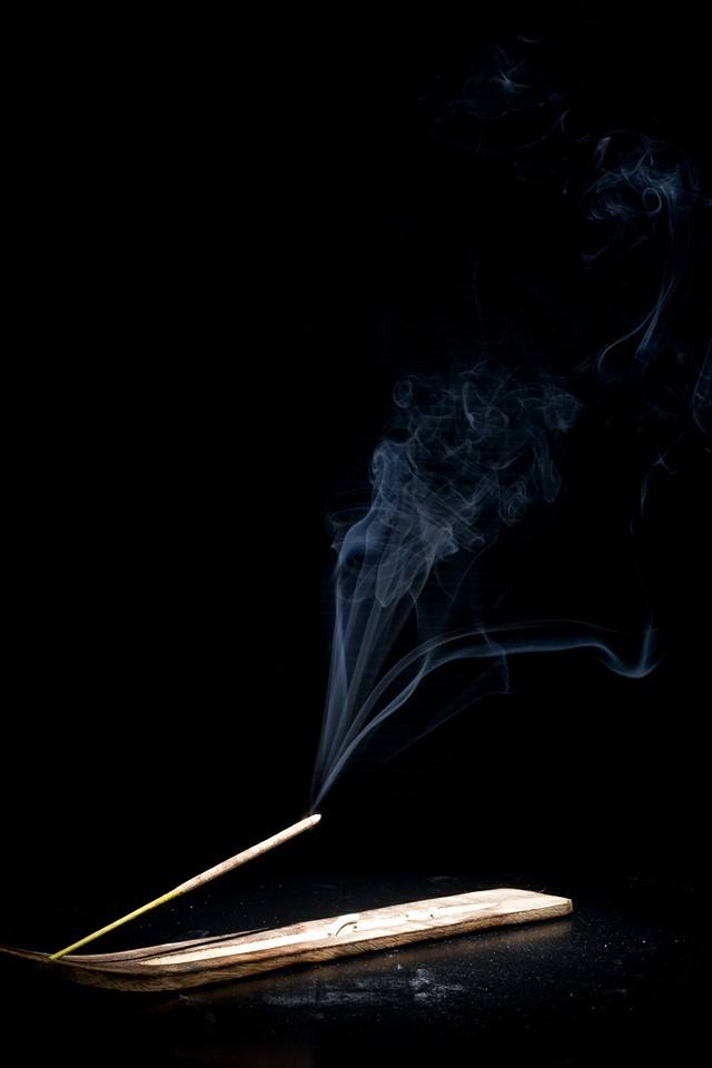 Burning incense... (35/365)