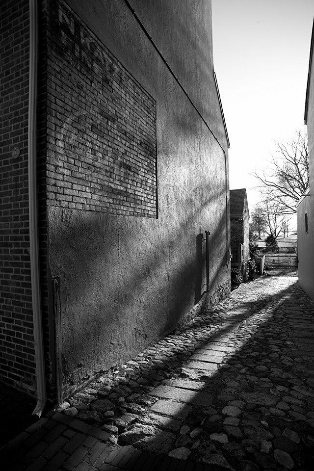 One of the cobblestone alleyways in old new castle... (36/365)