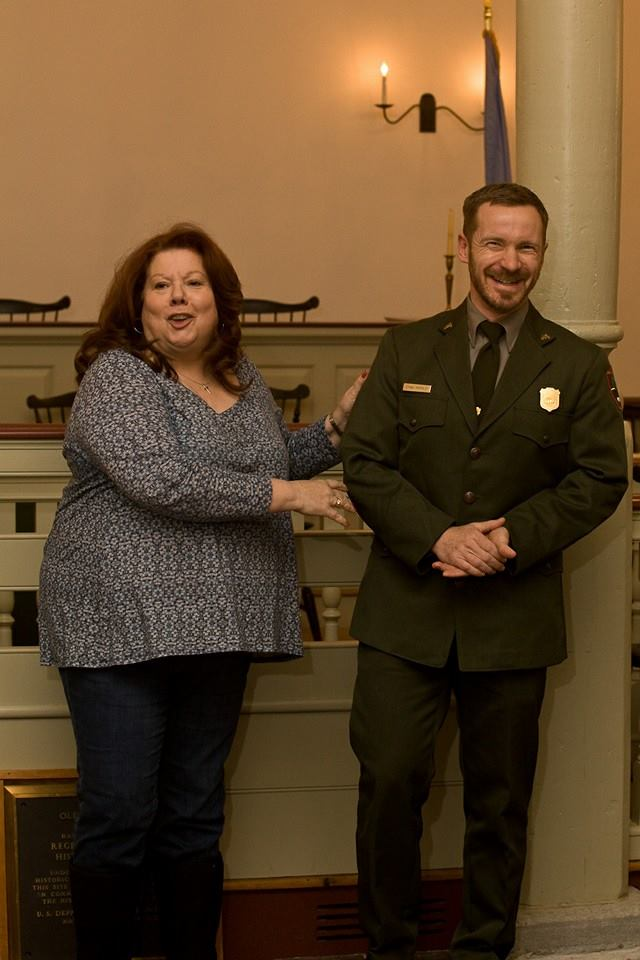 Meet Ethan McKinley, the new superintendent of First State National Monument. #netde #project365 (49/365)