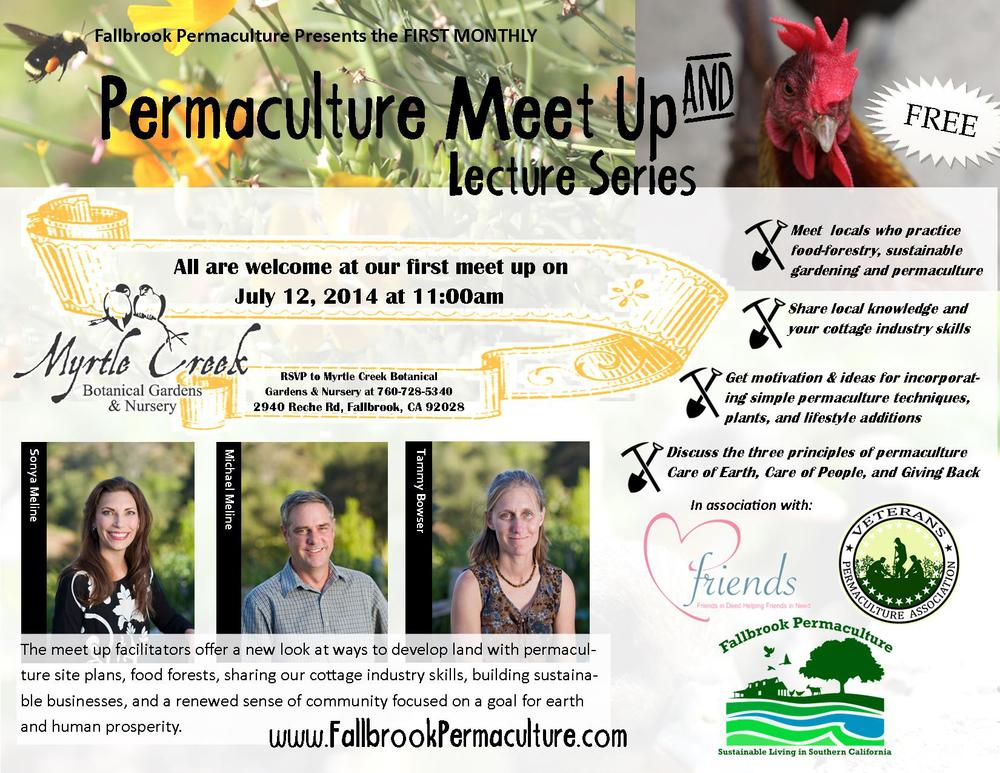 Fallbrook Permaculture's First Meetup for Ethics