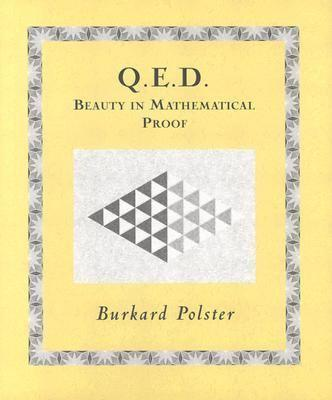 This is the cover of Q.E.D.: Beauty in Mathematical Proof.
