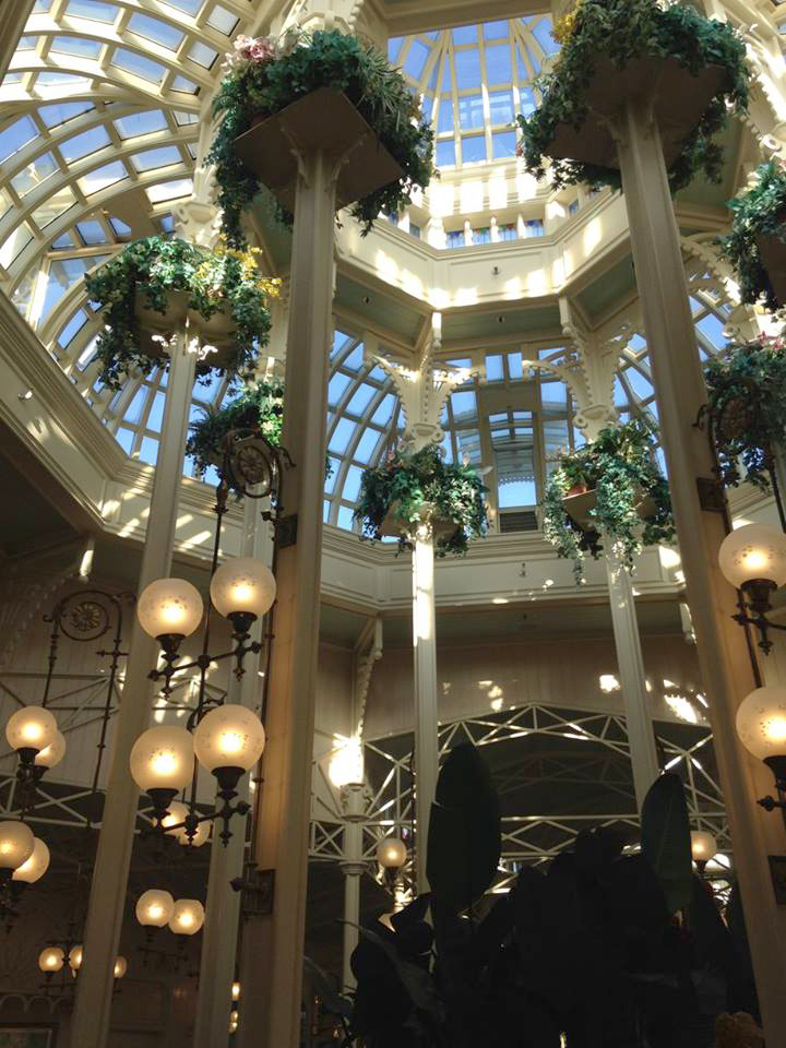 I would literally move in here. The Crystal Palace had me like *heart eyes*