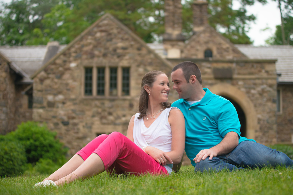 5: Heather and Kenny: Ridley Creek State Park Engagement Session