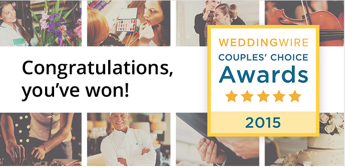 You + Me = Awesome. Book your 2015 Wedding!