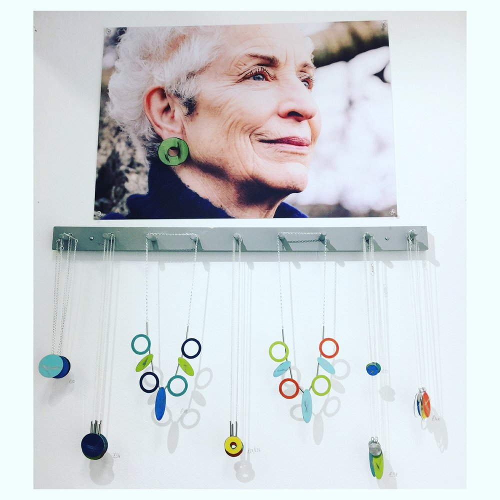 New necklaces displayed at Top Drawer