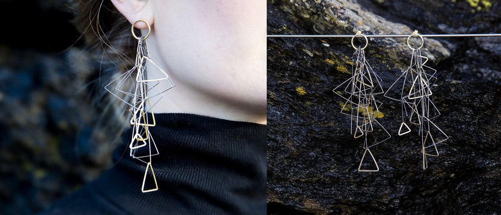 CASCADE EARRINGS for COLLECT