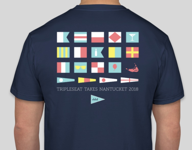 Shirts for the annual company trip to the Nantucket Wine Fest