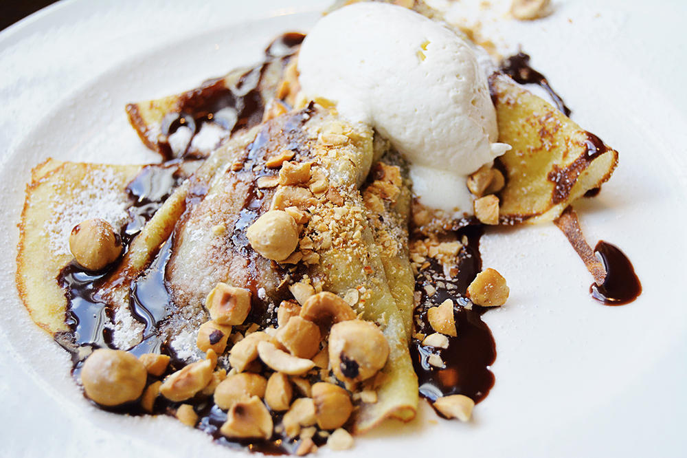 Chocolate-Hazelnut Crêpe