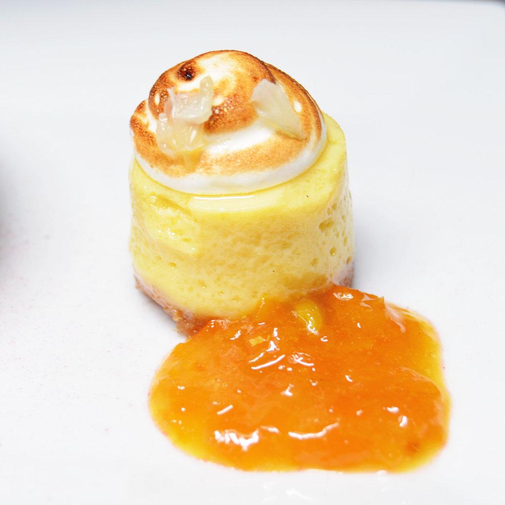 Finger Lime Pie, Kumquat Marmalade