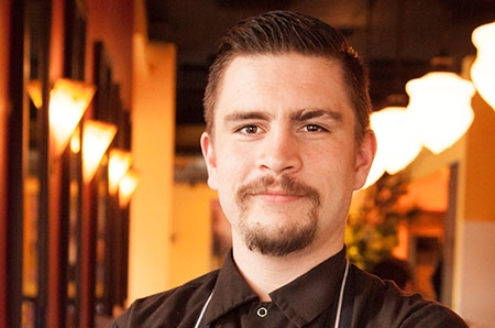 Andrew Yanak, Chef de Cuisine at Luc