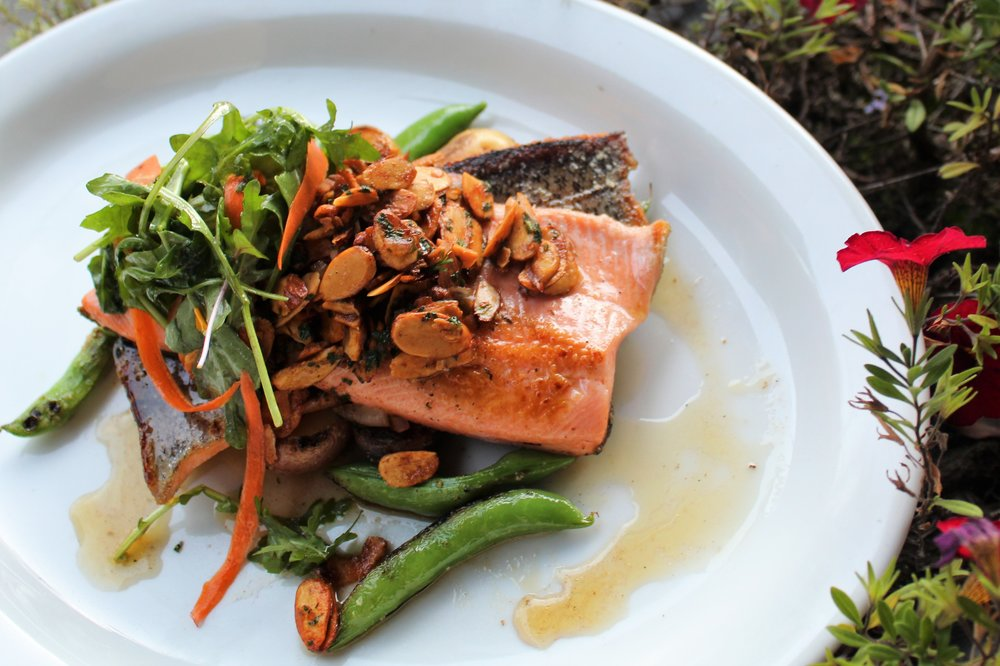 Filet of Trout Amandine