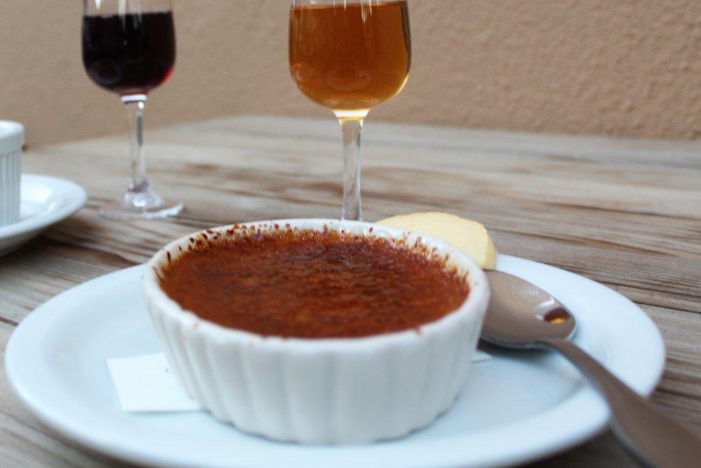 Butterscotch Crème Brulee