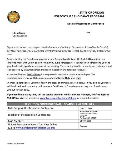 Default Intervention Hacienda CDC – Meeting Program Sample