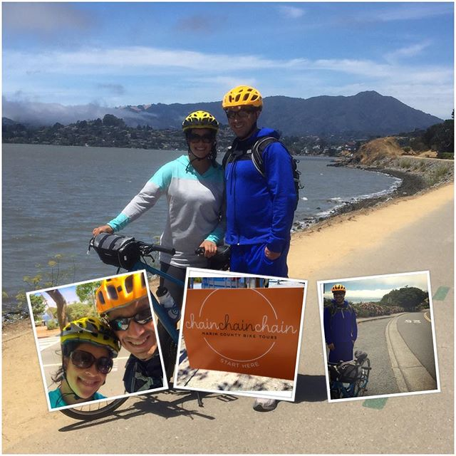 Guests promoting Chain Bike Tours w/ Instagram cleverness (how do you do that?)