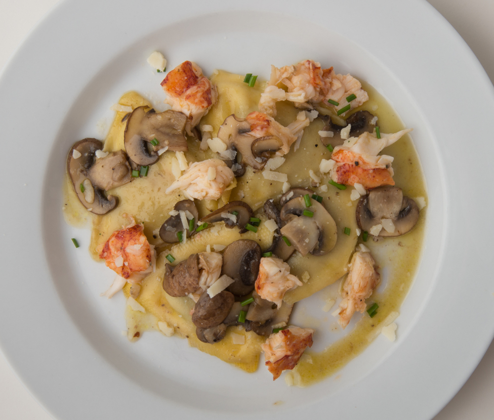 ABSOLUTELY LOBSTER® TRUFFLE RAVIOLI   Top any mushroom or truffle ravioli with chopped Absolutely Lobster® Truffle Butter tail meat.  Garnish with fresh Parmesan and give your tastebuds a real treat!