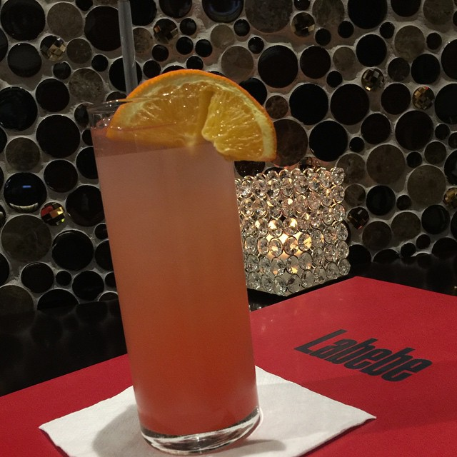 CYPRUS SUNSET || Karma Tequila || Cointreau || Fresh Pineapple || Grenadine ||