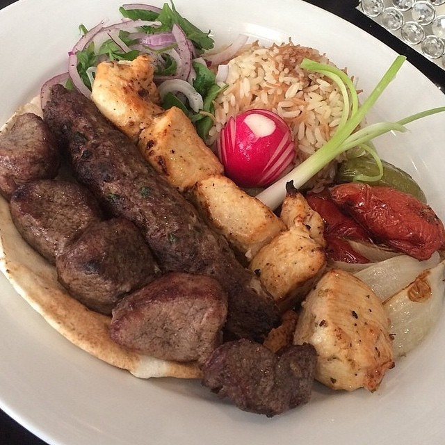 MIXED GRILL || Shish Taouk || Lamb Kebab || Kafta || Grilled Vegetables || Rice Pilaf ||