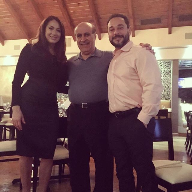 It was a pleasant surprise to have #amber_marchese_tv_personality and #jimmarchese #marriagebootcamp @labebenj for dinner last night! Thanks for stopping by! We look forward to serving you soon!