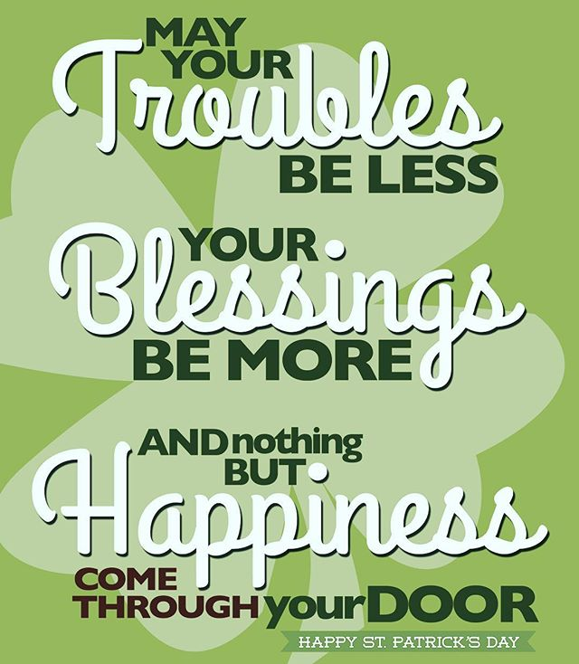 Happy Saint Patrick's Day ☘️#blessings #happiness #saintpatricksday