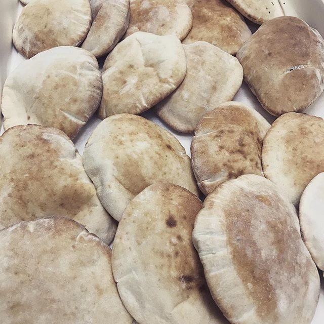 Labebe is making it's own freshly baked house made pita! Come by and try it with some hummus or your favorite dish! It's delicious! #freshpita #labebenj