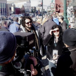 Kelly and Roland learning hard funding lessons at Sundance