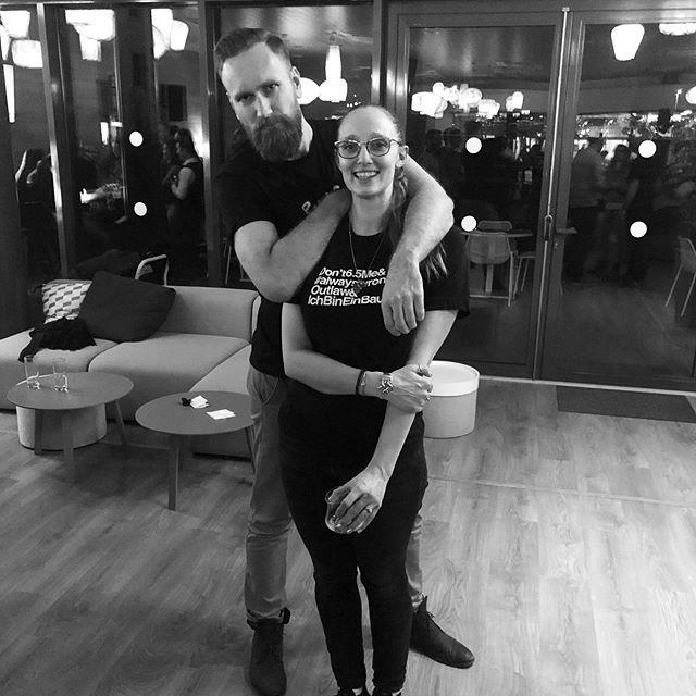 Robert and Becky post Think Wrong Master Class fun