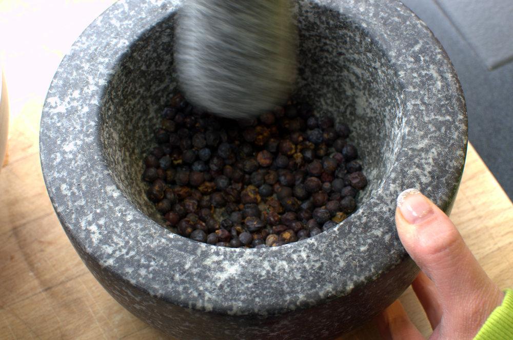581 Distilling Grinding Juniper.jpg