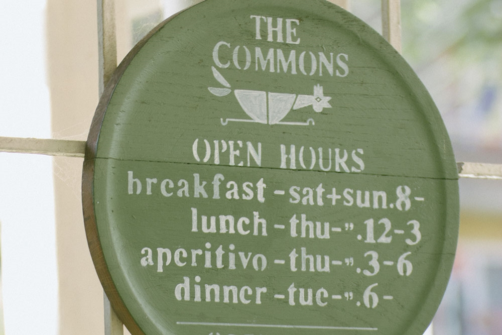 DINE/ THE COMMONS, LOCAL EATING HOUSE | SYDNEY The Commons, Local Eating House & Downtown Bar is rich in simplicity and history located in one of Sydney's highly sought after dining precincts, Darlinghurst. Formerly, the space built in 1850 where The Commons resides was known as a dairy farmhouse with an attached common gardens for convicts.