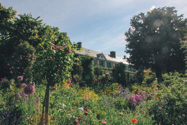 TRAVEL STORY/ MONET'S GARDEN Monet's Gardens is located in Giverny, a small beautiful town outside Paris. It is located in the region of Normandy, famed for camembert cheese and cider.