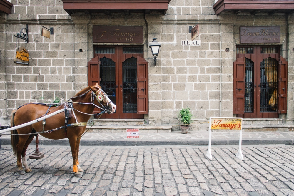 TRAVEL STORY/ THE CITY WITHIN WALLS, INTRAMUROS Built by the Spaniards through a series of stone blocks and bricks, the construction began in the late 16th century to protect the city from foreign invasions.