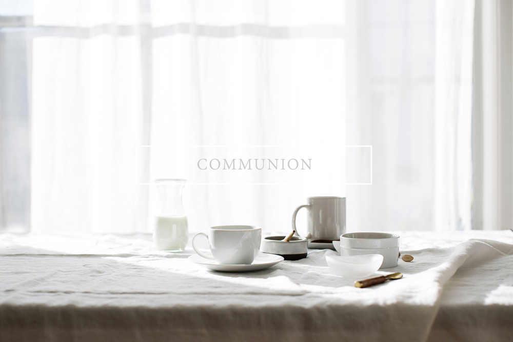 Communion by tête-à-tête &PLATE
