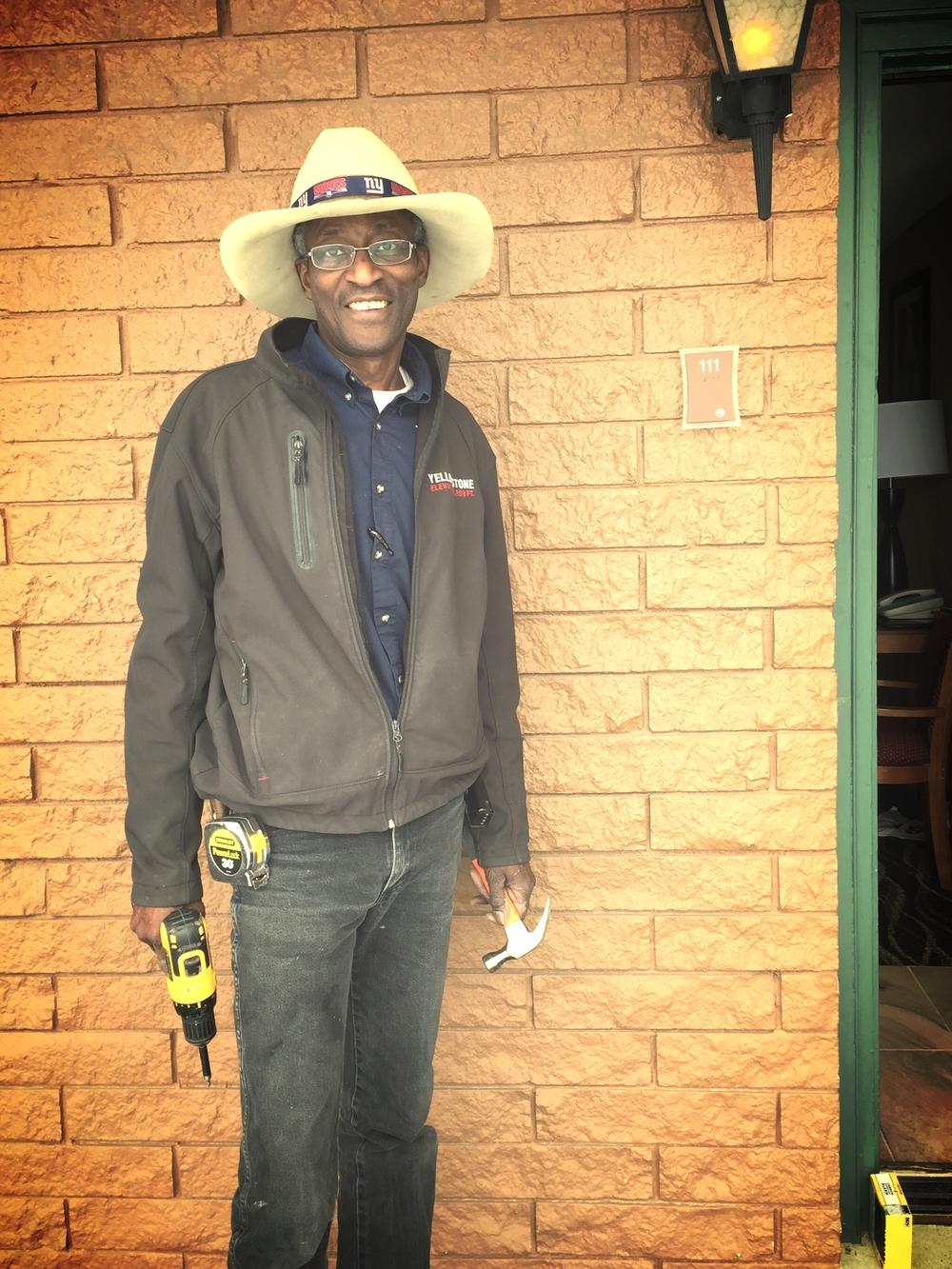 Maurice the maintenance man extrordinaire. Best Western knows Best!