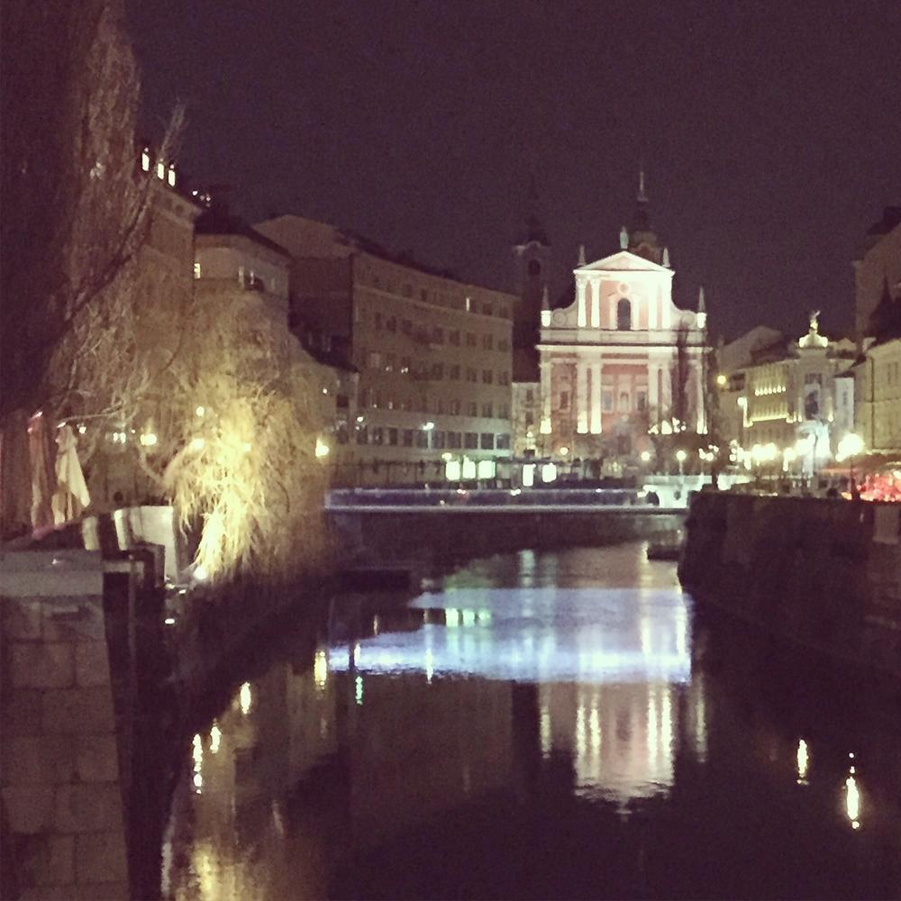 Sightseeing in Ljubljana