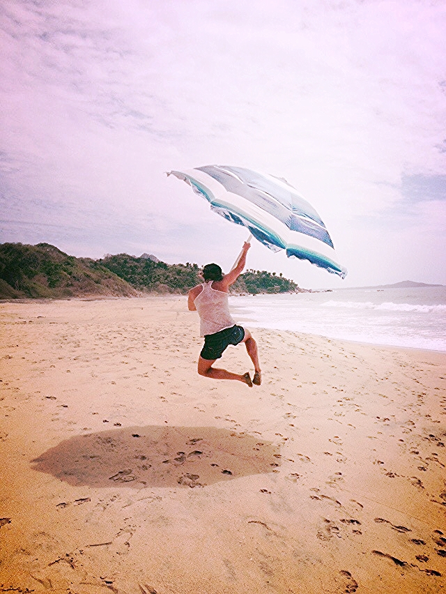 Beach time for some recharge on TFSA beach in Sayulita, Mexico. Thanks Em Harris for that snap!