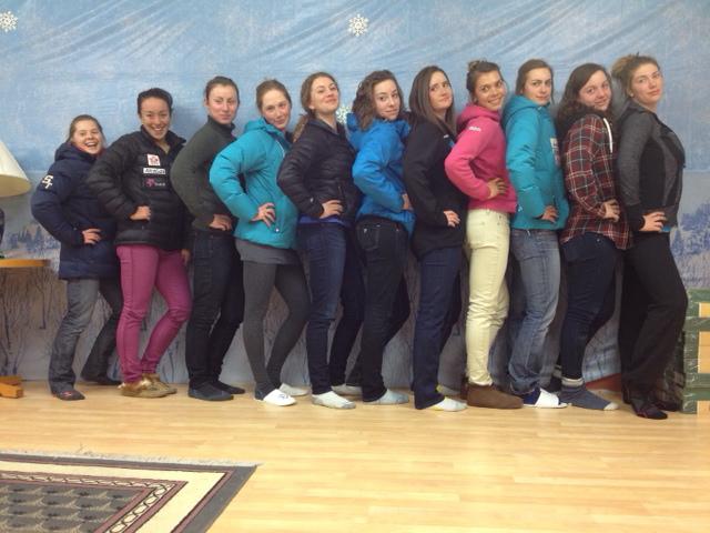 Full Sass. AWCA Ladies 2011/12