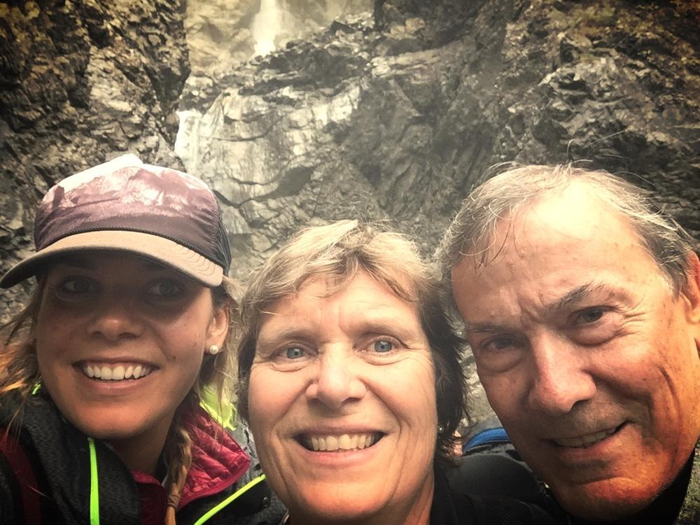 Exploring Sertig with my parents. :)