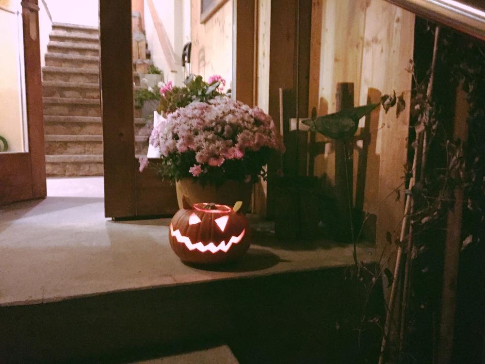 Halloween creeps in Switzerland.