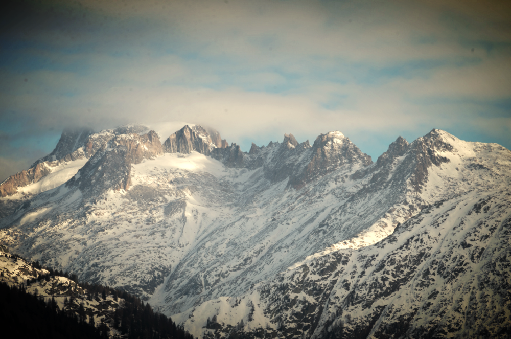 Beautiful Alps surrounding the stadium. Fotos:  www.nordic-online.ch  , ©Urs Steger