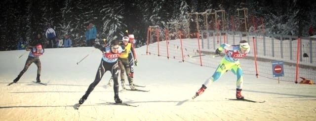 Quarter final in COC Planica, SLO. Qualified 16th, finished 10th for the day.