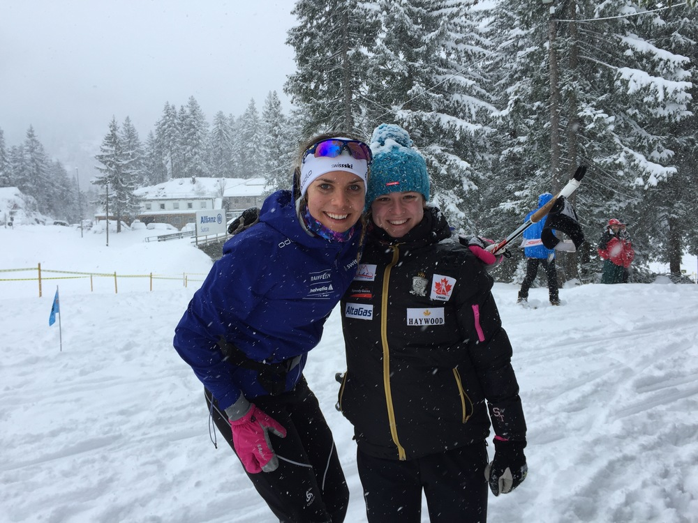 Molly Miller of the Canadian racing squad representing in Europe. So great to connect with this impressive Chica :)
