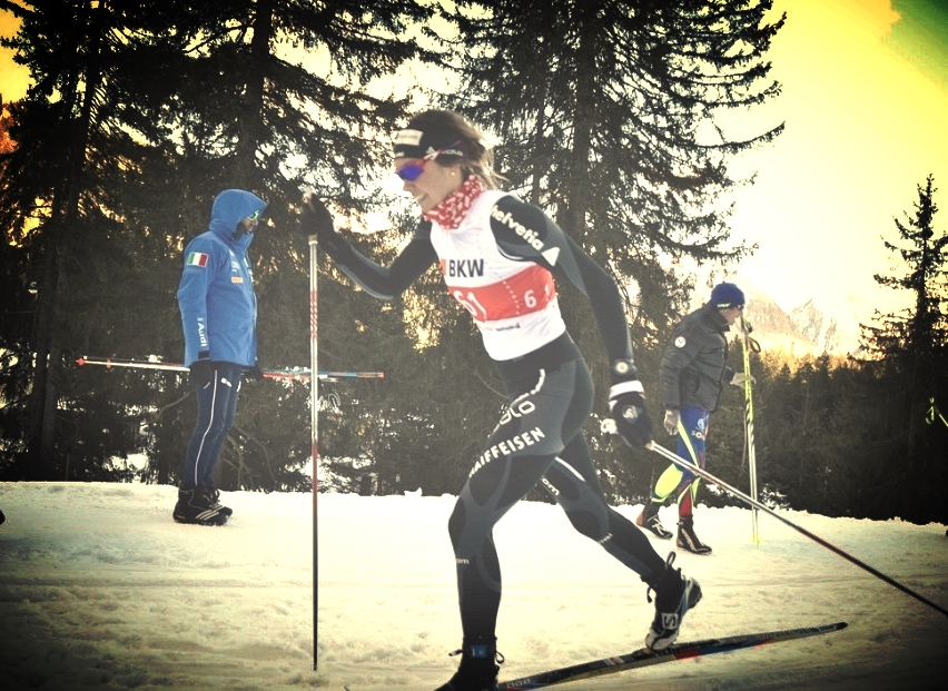 Classic sprint, finished the day in 10th. COC Series in Campra, SUI Photo: nordic-online.ch