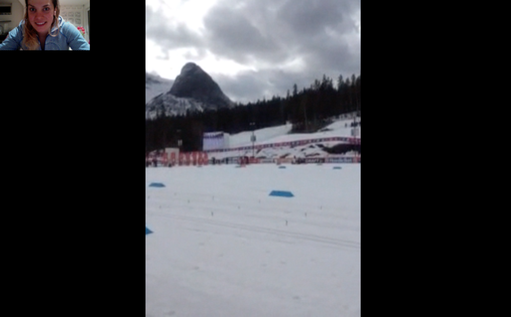 My view of Tour de Canada, actual live Facetime feed :) I was so excited to cheer on the successful and paintrain races of teammates,friends, maple leafs and Swiss crosses. It was strange to not be taking part, but happy with my season and decisions none the less.