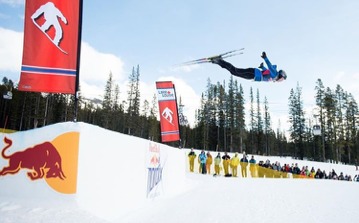 The epitome of 'sending it'. Señor Robinson giving me some nordic inspiration from afar. Red Bull Nordix event in Lake Louise, March 13th.