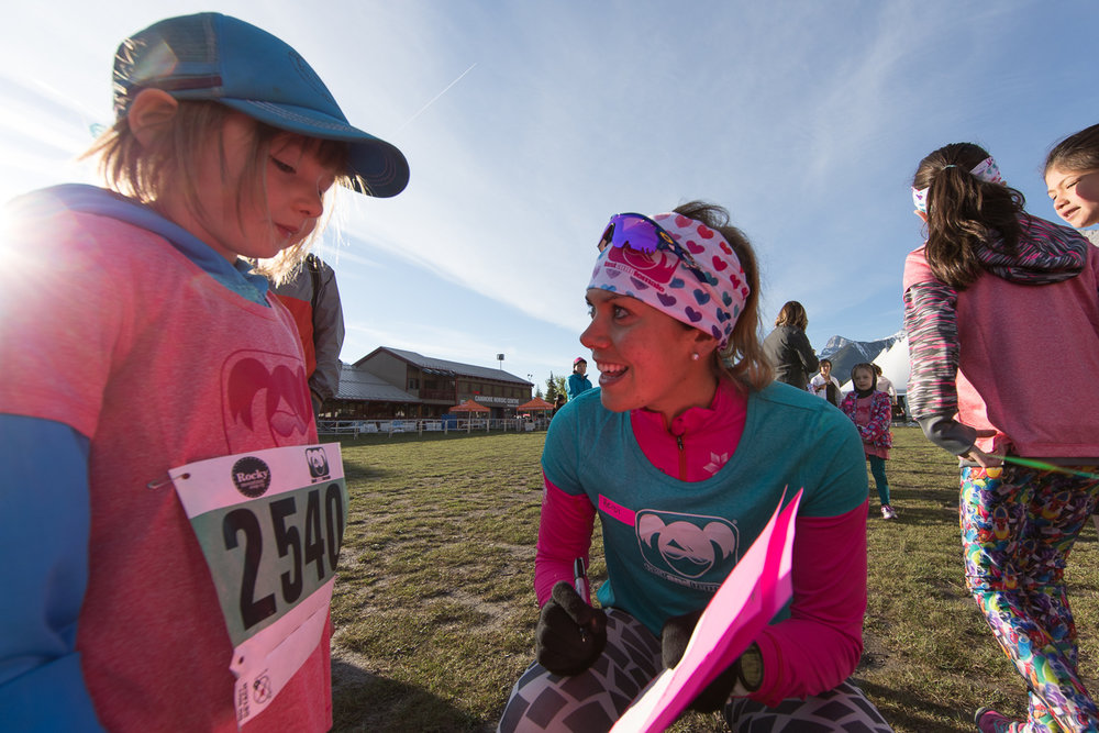 Fast and Female event in Canmore as part of the Rocky Mountain Soap Co. Women's Run. Great event! Photo - Jon Huyer, Huyer Perspectives Photography