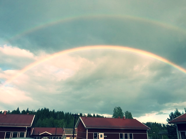 Double rainbow all the way!