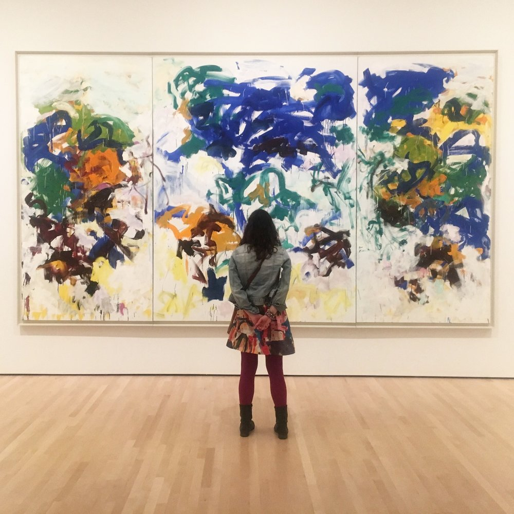 Viewing Joan Mitchell at SFMOMA