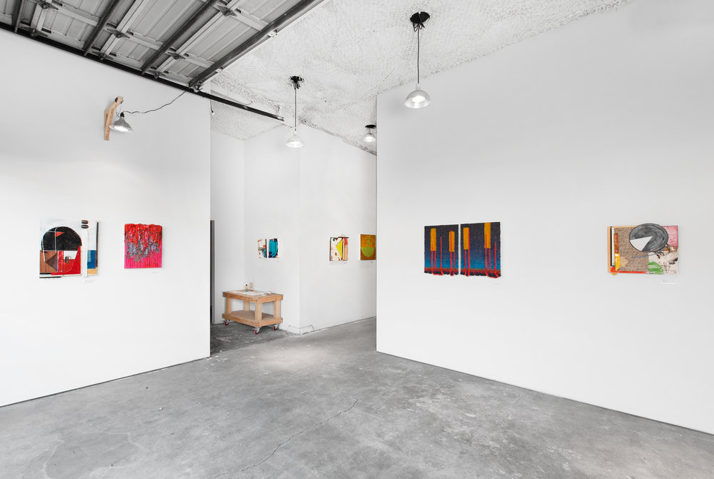 Installation shot by Rafael Soldi at Plank Gallery