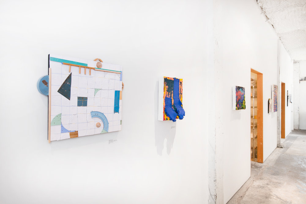 Installation shot of Plank Gallery (photo by Raphael Soldi)