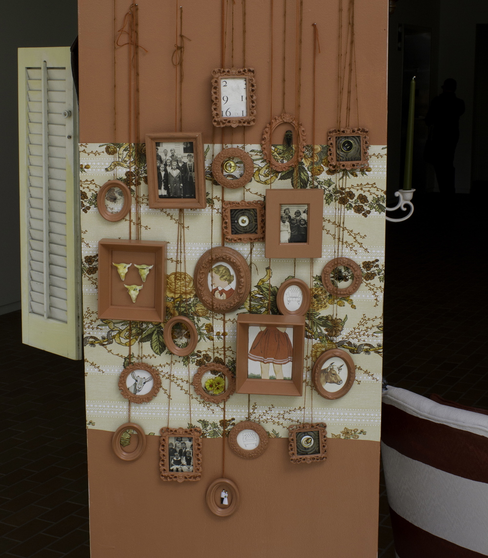 House of Collections,  2012, Site Specific Installation, (Side View), Image courtesy of Adam Anderson