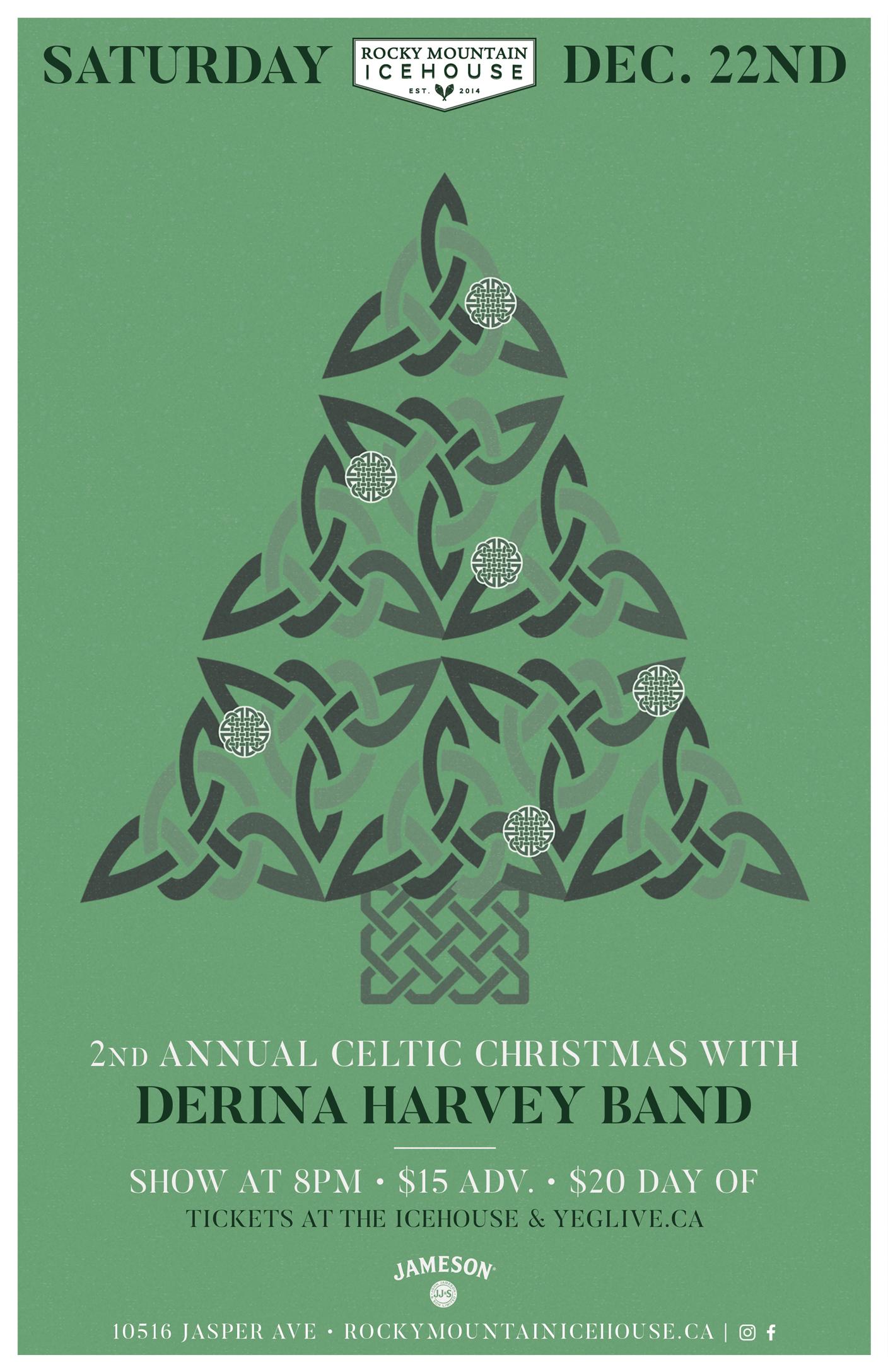 Celtic Christmas.Derina Harvey Celtic Christmas Rocky Mountain Icehouse